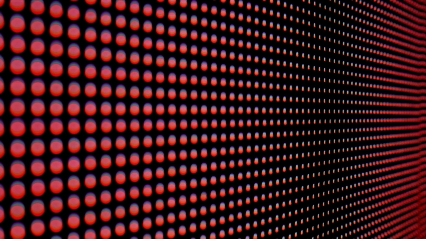 Abstract close up bright colored led smd video wall abstract background | Shutterstock HD Video #1034958938