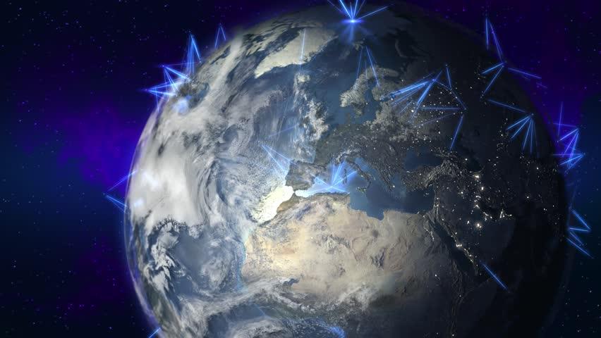 Satellites | Shutterstock HD Video #10350635