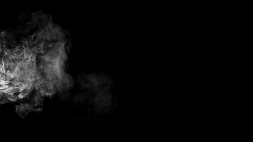 Smoke , vapor , fog , Cloud - realistic smoke cloud best for using in composition, 4k, screen mode for blending, ice smoke cloud, fire smoke, ascending vapor steam over black background - floating fog | Shutterstock HD Video #1035066260