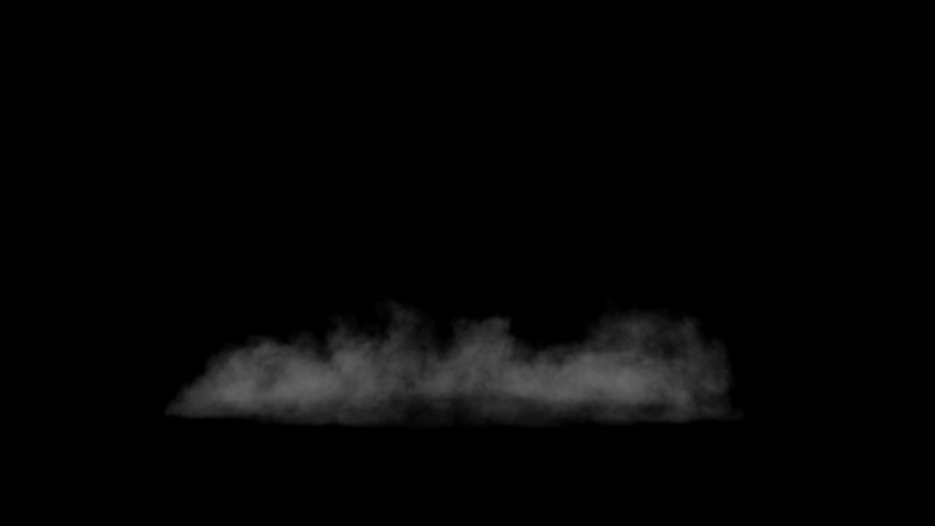 Smoke , vapor , fog - realistic smoke cloud best for using in composition, 4k, use screen mode for blending, ice smoke cloud, fire smoke, ascending vapor steam over black background - floating fog | Shutterstock HD Video #1035528656