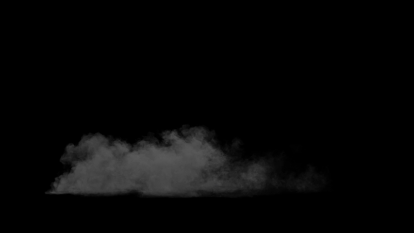 Smoke , vapor , fog - realistic smoke cloud best for using in composition, 4k, use screen mode for blending, ice smoke cloud, fire smoke, ascending vapor steam over black background - floating fog | Shutterstock HD Video #1035528665