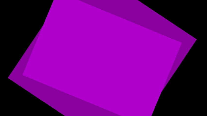 Ultra HD 4k video of Concentric cartoon square transition animation on a black png background. | Shutterstock HD Video #1035544928