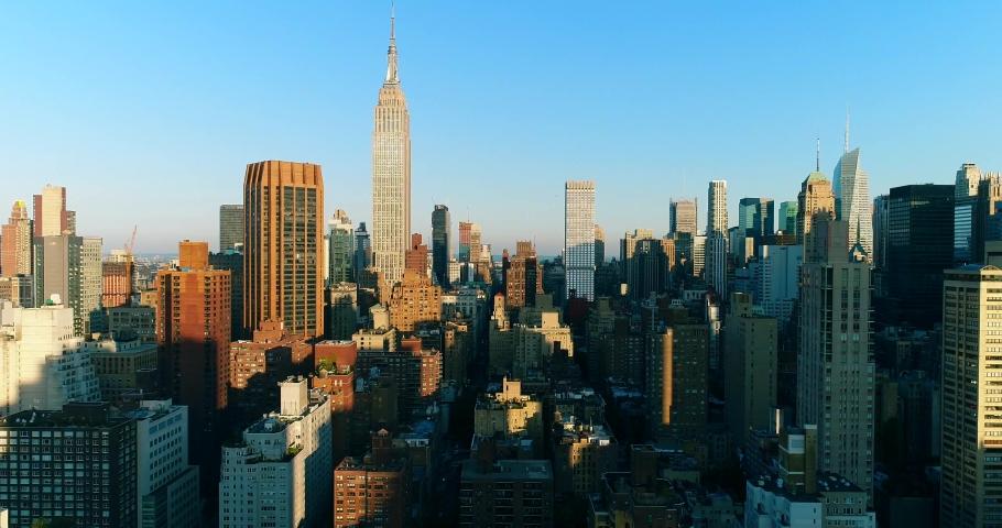 New York City Aerial 4k | Shutterstock HD Video #1035553979