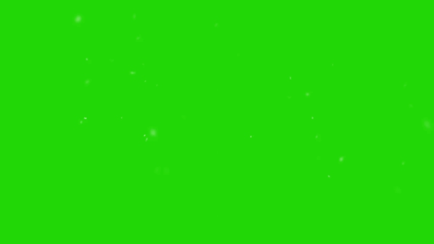 Snowflake grow - microscopic timelapse with green chroma key background | Shutterstock HD Video #1035667541