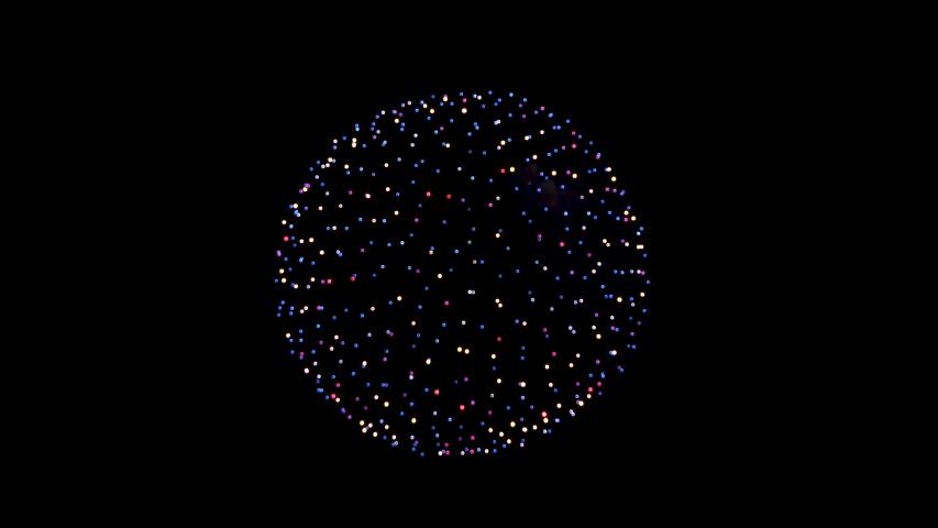 Fireworks Beautiful fireworks to celebrate   Shutterstock HD Video #1035836177