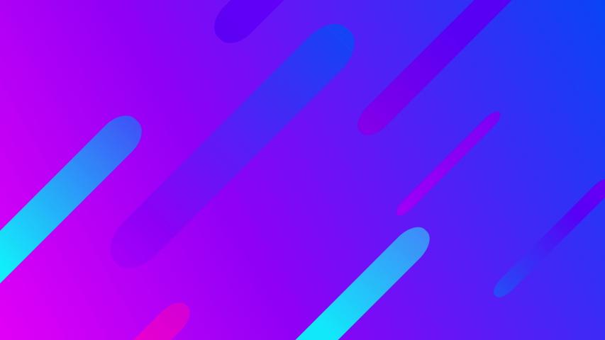 Seamless live background. Neon purple blue modern lines.   Shutterstock HD Video #1035875411