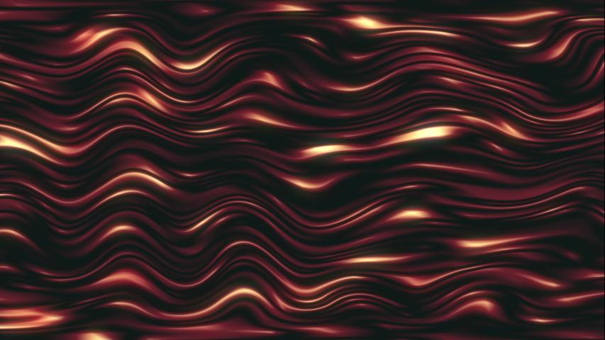 4K glowing waves flow away   Shutterstock HD Video #1036118564