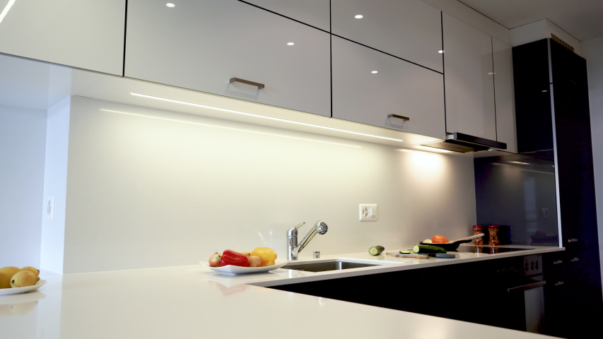 Modern Kitchen Interior Design Of Stock