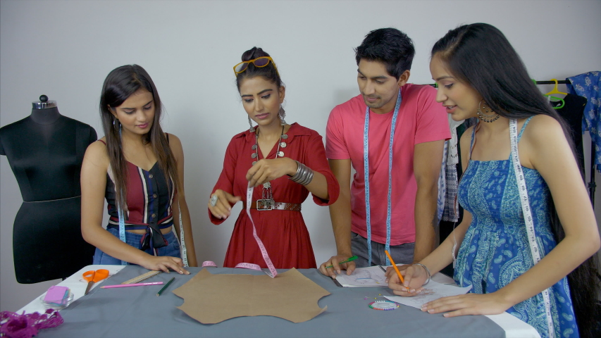 Diverse Indian Students Engaged In Stockvideos Filmmaterial 100 Lizenzfrei 1036327634 Shutterstock