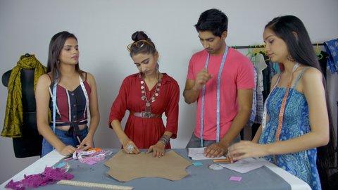 Hakuun Diverse Indian Students Engaged In Liittyvia Arkistovideomateriaaleja Rojaltivapaa 1036327634 Shutterstock