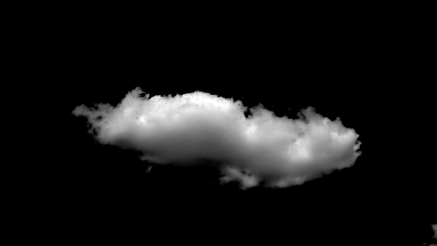 Cloud alpha cloud green pre-keyed with alpha channel cloud formations in time lapse effects. Cotton cloud cluster black sky background. Beautiful clouds green box ready to cut background. SERIAL VIDEO | Shutterstock HD Video #1036329599