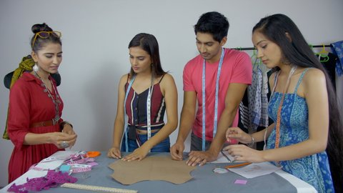 Diverse Indian Students Engaged In Stock Footage Video 100 Royalty Free 1036327634 Shutterstock