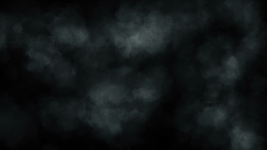 Puffs of magnificent smoke on an isolated black background. Atmospheric smoke 4K Fog effect. VFX Element. Haze background in slow motion. Abstract smoke cloud. Seamless loop 3d animation | Shutterstock HD Video #1036456226