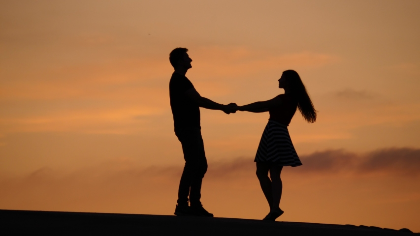 Lovely Couple Holding Hands and Stock Footage Video (100% Royalty-free)  1036502249 | Shutterstock