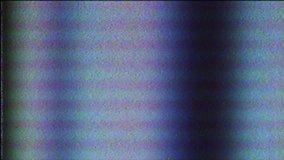 Abstract Digital Animation. Old TV. Glitch Error Video Damage. Signal Noise. Error. System error. Unique Design. Bad signal. Digital TV Noise flickers. No signal.VHS. Hacker attack. Computer virus