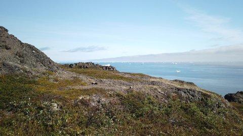 hike to Kuannit, Disko Island, Greenland