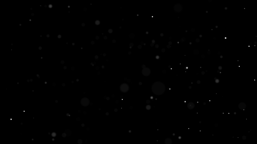 Dust Particles Background Bokeh Lights Background on Black Background 4k Footage Snow Particles Background #1036880765