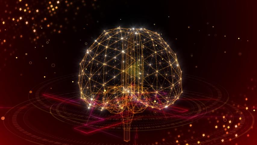 AI, Artificial intelligence digital brain big data deep learning computer technologies concepts Background.   Shutterstock HD Video #1037001635