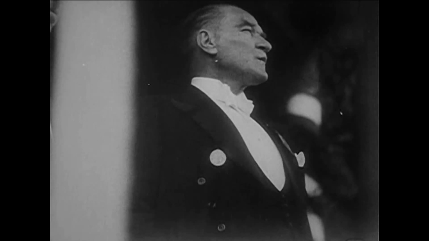 CIRCA 1930s - Mustafa Kemal Ataturk industrializes Turkey in the 1930s.