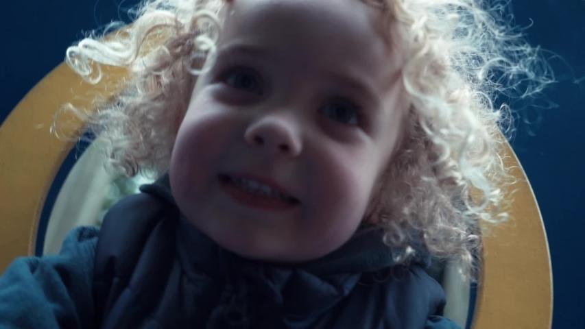 Footage young lonely joyful blondie boy portrait | Shutterstock HD Video #1037133386
