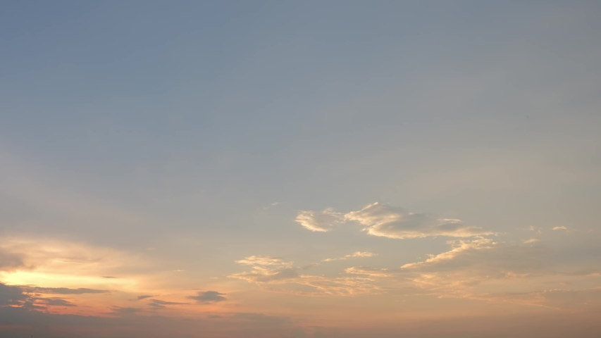 4K Time lapse, beautiful sky with clouds background, Sky with clouds weather nature cloud blue, Blue sky with clouds and sun, Clouds At Sunrise. | Shutterstock HD Video #1037348171