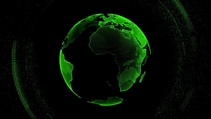 graphic business design futuristic global space #1037496254