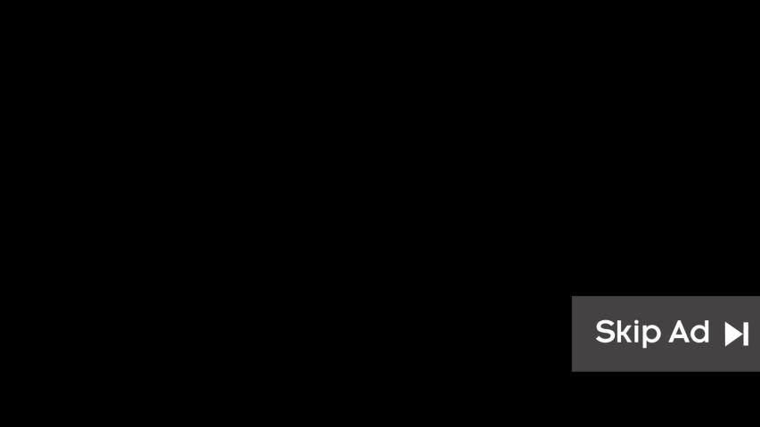 Animated Skip Ad Icon in alpha matte