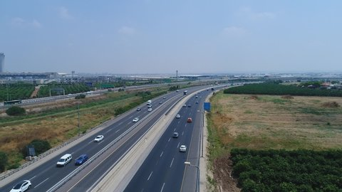 Highway 1, is the main highway connecting Tel Aviv and Jerusalem in Israel and continuing eastwards to the Jordan Valley