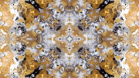 A moving kaleidoscope of current colors. Abstract moving background