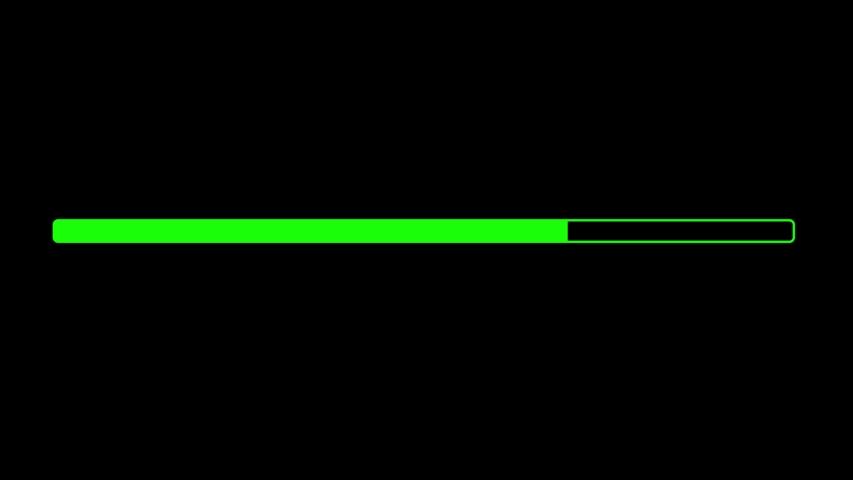 HUD elements on black background | Shutterstock HD Video #1037645342