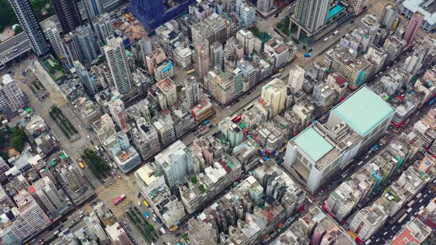 Sham Shui Po, Hong Kong 14 September 2019: Hong Kong city from top #1037667695