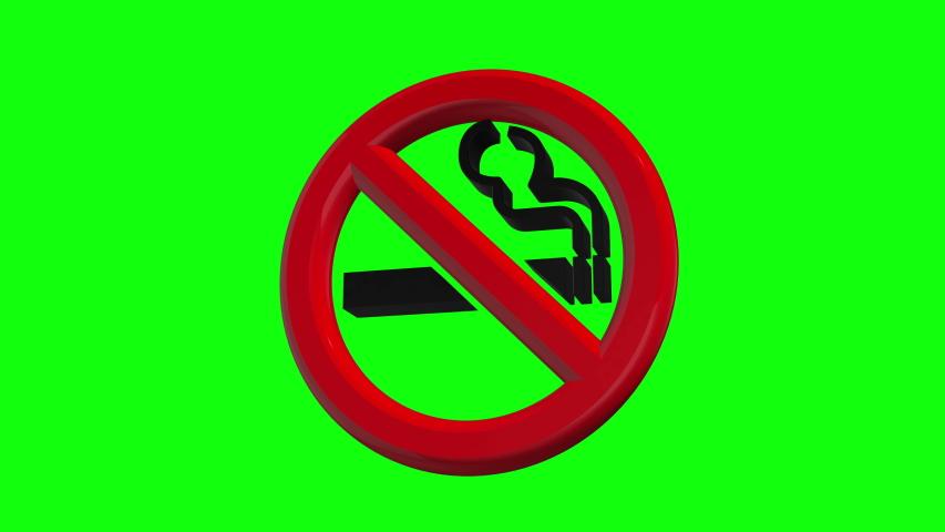 Green screen cigarette no smoking cigarette icon cigarette green screen symbol no smoking symbol icon symbol green screen area no smoking area icon area green screen ban no smoking ban icon ban 3d 4k | Shutterstock HD Video #1037681666