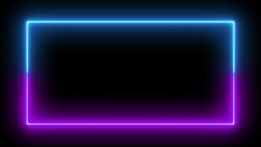 neon led loop led frame led neon fluorescent loop fluorescent frame fluorescent neon ultraviolet loop ultraviolet frame ultraviolet neon screen loop screen frame screen seamless blue purple animation #1037763206