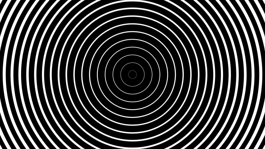 Circles black and white concentric | Shutterstock HD Video #1037790617