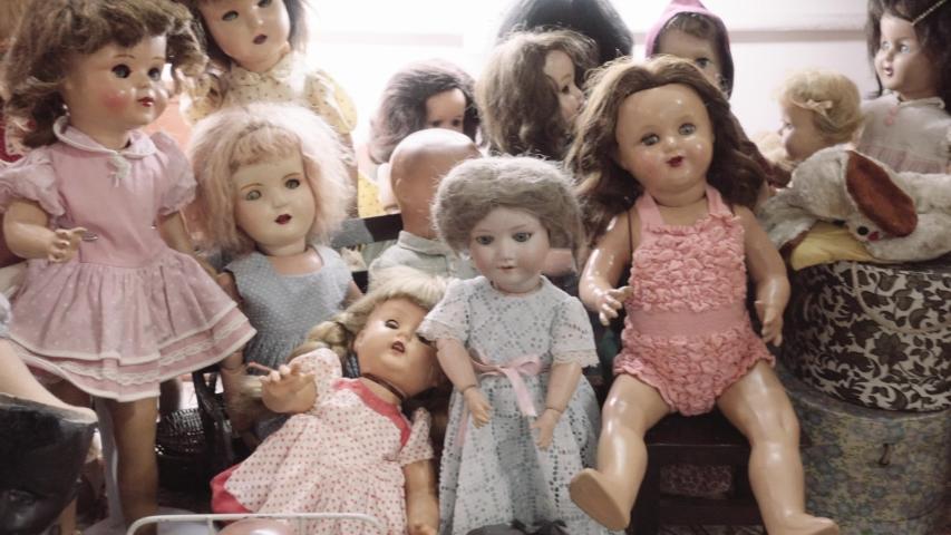 Ceramic Children Dolls