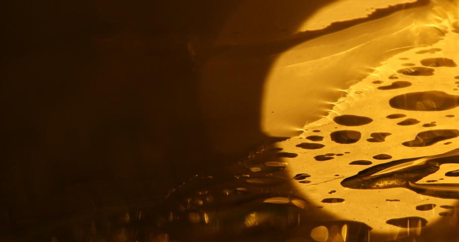 Blur Water Texture Macro Shot | Shutterstock HD Video #1037974295