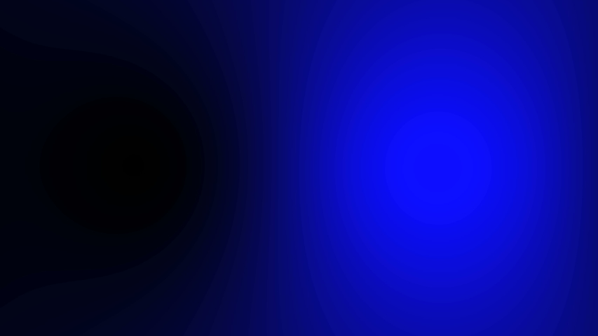 Animation of police lights.red blue emergency lights on black background
