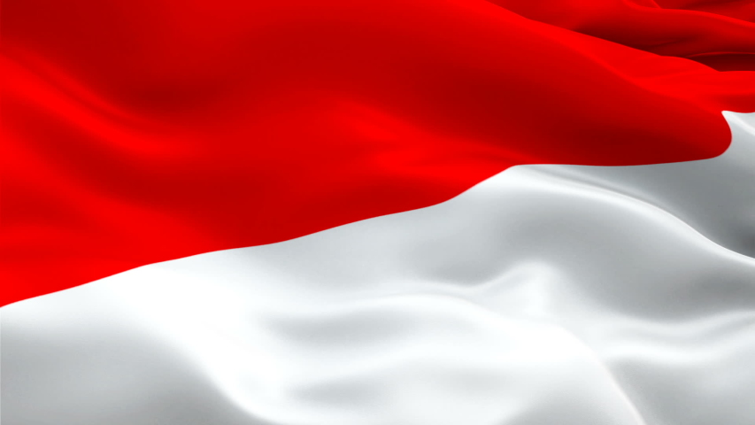 Indonesia Flag Motion Loop Video Stock Footage Video (100% Royalty-free)  1038194498 | Shutterstock
