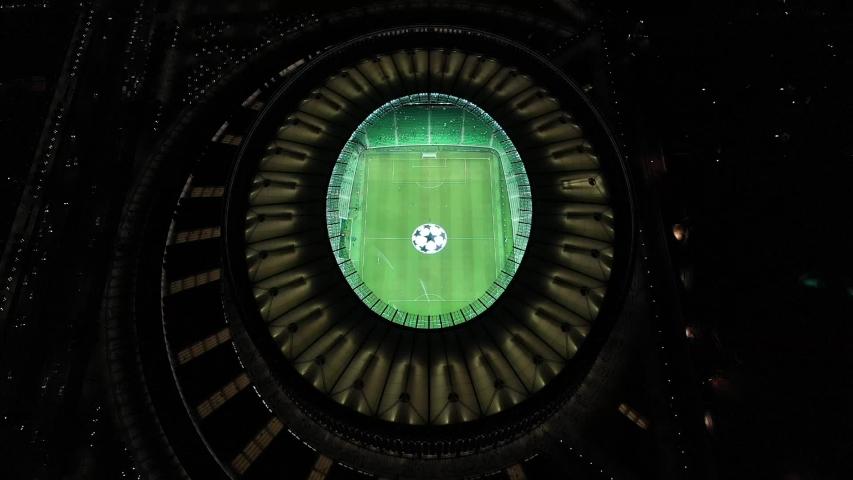 August 27, 2019 - Russia - Krasnodar - stadium of the football club Krasnodar before the Champions League match