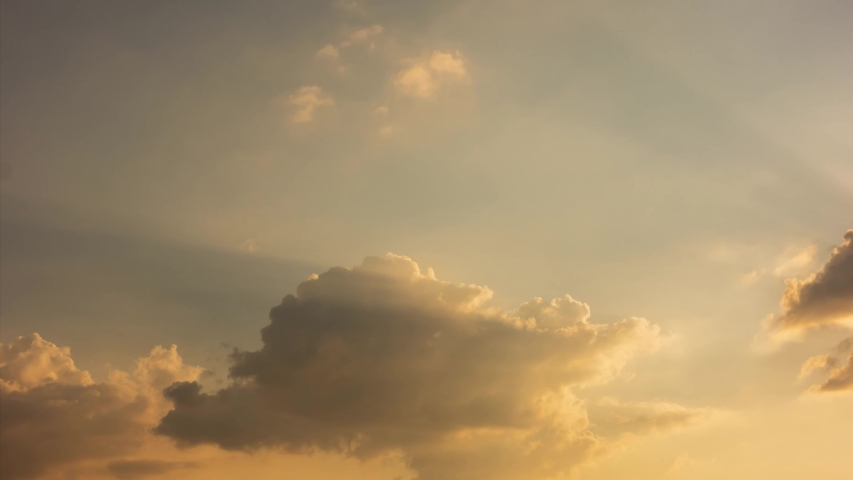 Building motions clouds with sky. Puffy fluffy white clouds sky time lapse. slow moving clouds.sky time lapse. Cloudscape timelapse cloudy. footage timelapse 4k. background worship christian concept. #1038288605