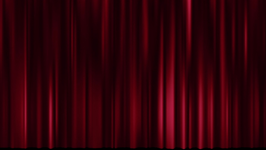 Motion of theatre red curtain, Cinema theatre background | Shutterstock HD Video #1038373259