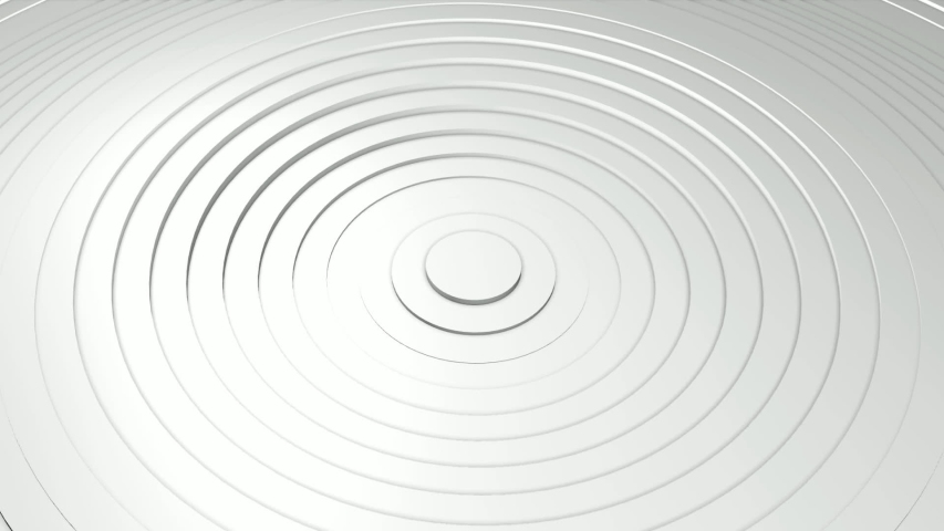 Abstract background with waving surface in motion. Animation of seamless loop. #1038475799