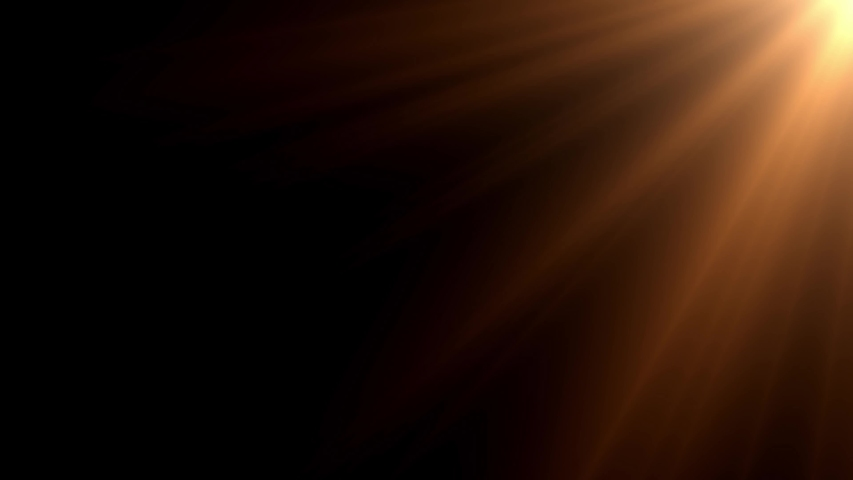 Sun light lens flares art animation background
