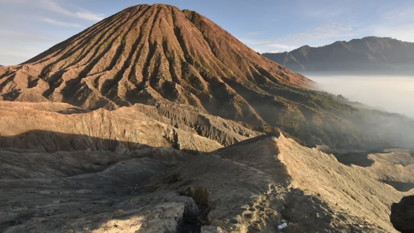 Mount Bromo at East Java | Shutterstock HD Video #1038510407