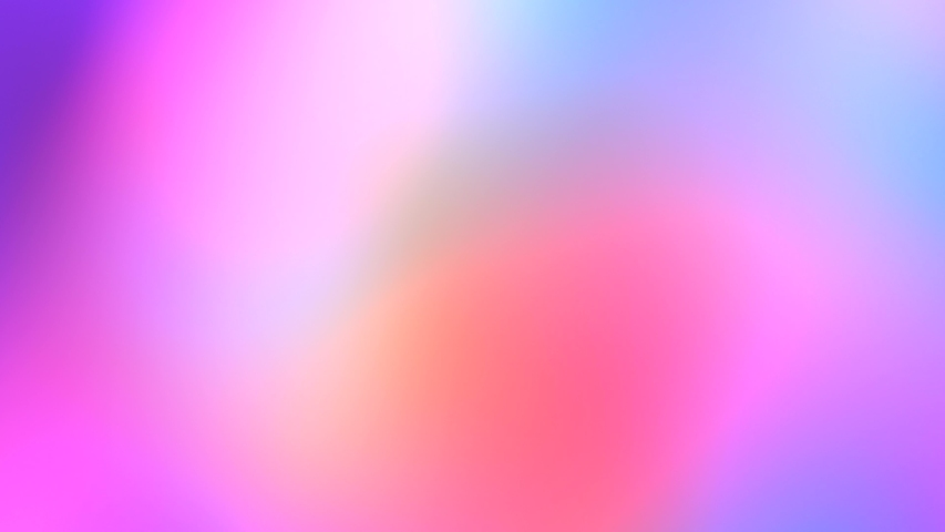 Color neon gradient. Moving abstract blurred background. The colors vary with position, producing smooth color transitions. Purple pink blue ultraviolet | Shutterstock HD Video #1038521390