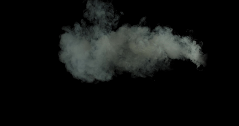 Smoke , vapor , fog , Cloud - realistic smoke cloud best for using in composition, 4k, screen mode for blending, ice smoke cloud, fire smoke, ascending vapor steam over black background - thick , thin   Shutterstock HD Video #1038652169