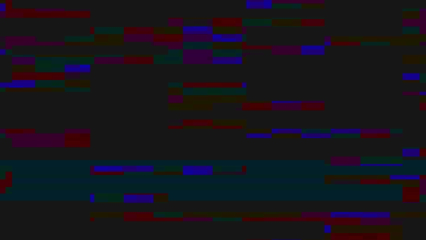 Static VHS TV noise with glitches. Old style  bad signal, broken television background.  #1038670148