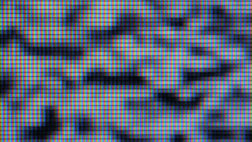 Abstract Digital Glitch Effect. Screen Monitor Pixels Close Up. Video Signal Damage With Pixel Closeup Noise And Error Interference.  #1038700553