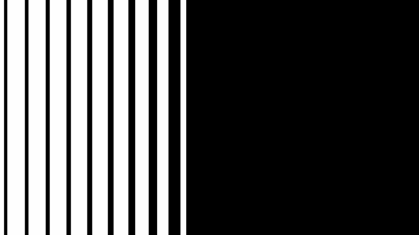 Transition opening animation. Abstract CGI motion graphics and animated transition mask template. Stripes transition with white and black color. | Shutterstock HD Video #1038700652