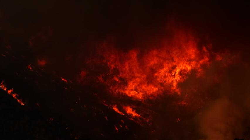 Saddleridge Fire Los Angeles County Near Santa Clarita, Porter Ranch, Sylmar California Wildfire
